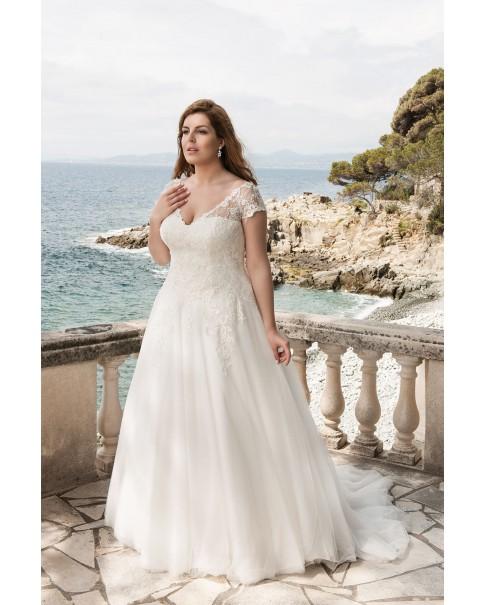 Svadobné šaty pre moletky Agnes LO-39
