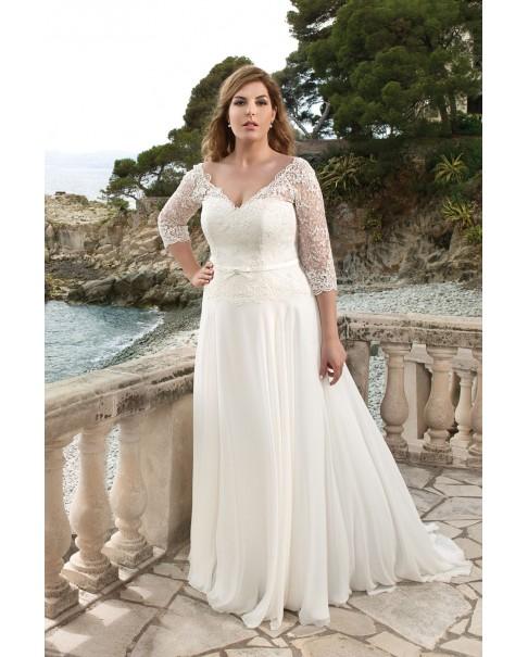 Svadobné šaty Agnes LO-50