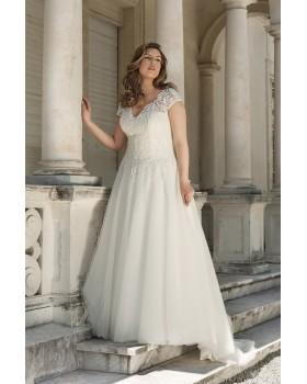 Svadobné šaty Agnes LO-52