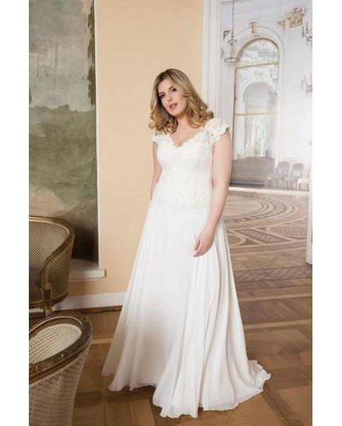 Svadobné šaty pre moletky Agnes LO-73