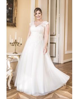 Svadobné šaty pre moletky Agnes LO-82