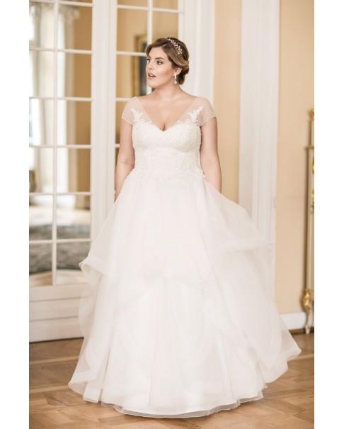 Svadobné šaty pre moletky Agnes LO-95
