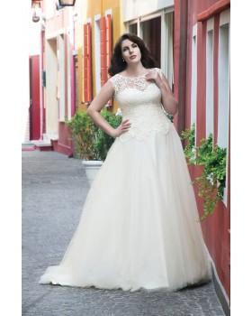 Svadobné šaty Agnes LO-6