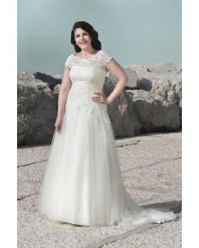 Svadobné šaty Agnes LO-9