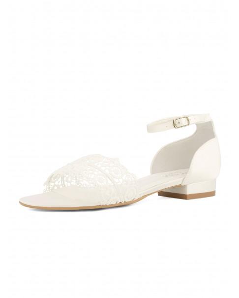Boho svadobné sandálky Bonnie