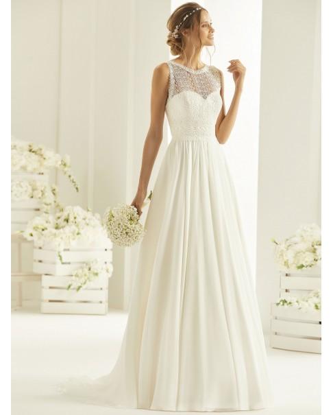 Svadobné šaty Ophelia - veľkosti od 36 do 50