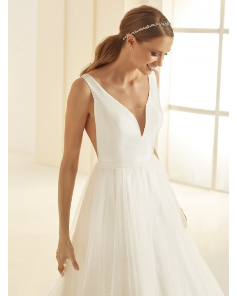 Svadobné šaty Amanda - veľ. od 36 do 46