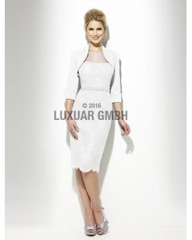 Svadobný kostým Luxuar 6857 veľ. 40 ivory