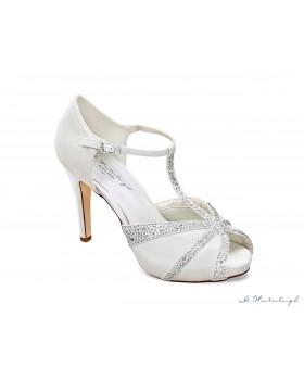Svadobné topánky Chrystal, G. Westerleigh