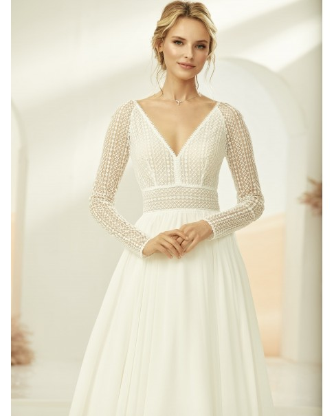 Svadobné šaty Malta - veľ. od 36 do 44