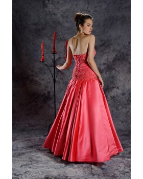 Plesové šaty ELLA - veľkosť 36 na nižšiu postavu