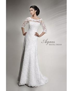 Svadobné šaty Agnes 10505