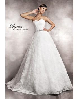 Svadobné šaty Agnes 11343