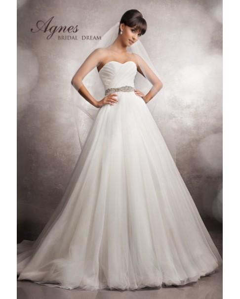 Svadobné šaty Agnes 11425