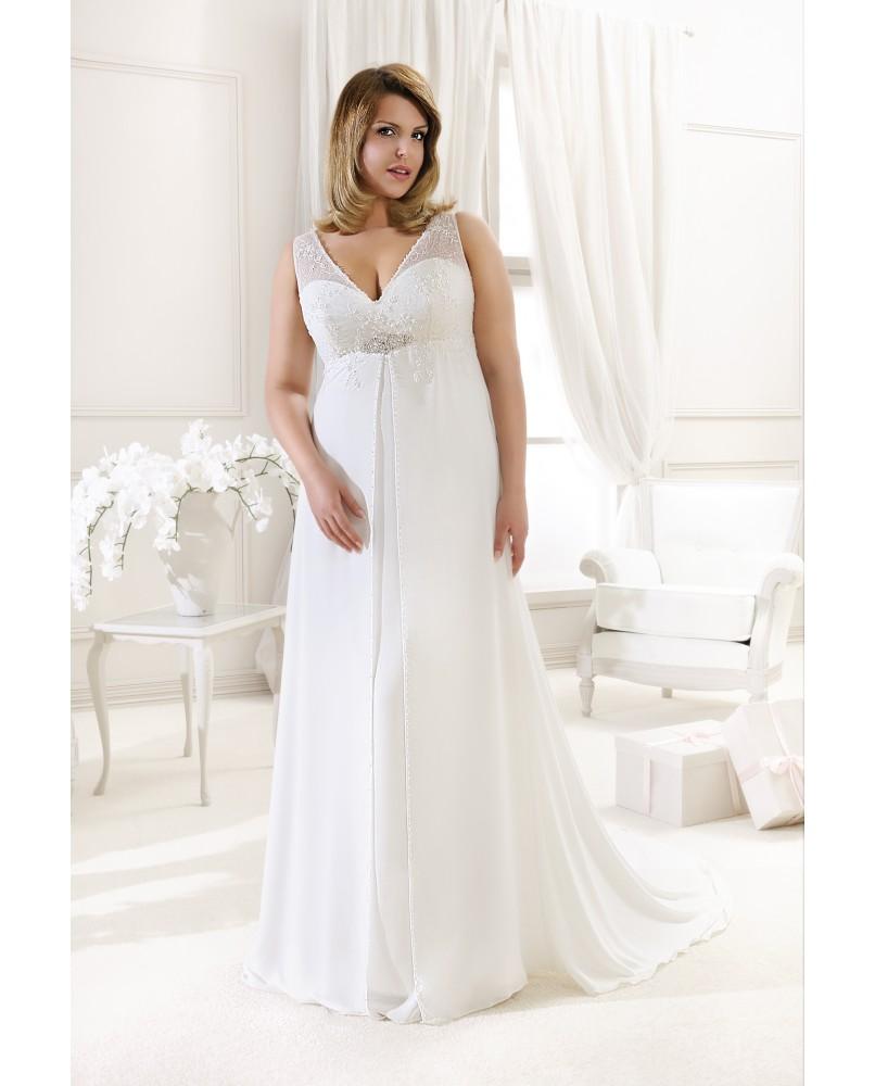 svadobne saty pre moletky agnes bridal dream plus size collection ka ... d2382b0fb2d