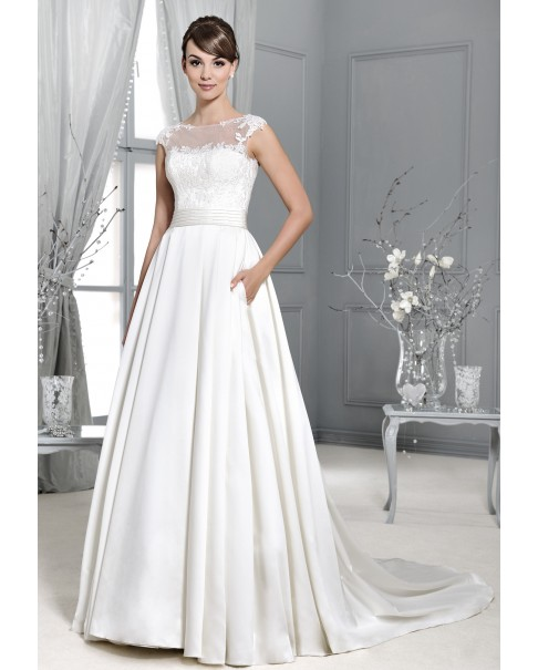 Svadobné šaty Agnes 14017