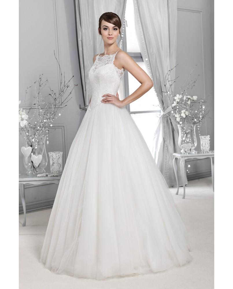 755eedfb6512 tylove svadobne saty s cipkou a ramienkami agnes bridal dream ...