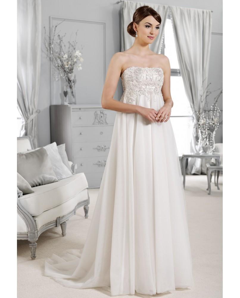 736661ff7dc8 svadobne saty pre tehotne nevesty agnes bridal dream crystal ...