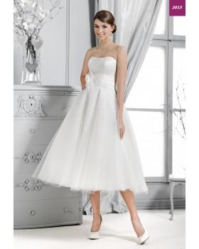 Krátke svadobné šaty Agnes 14143