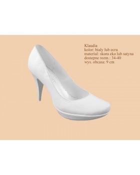 Svadobné topánky Klaudia