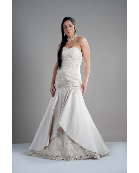 Svadobné šaty DONA