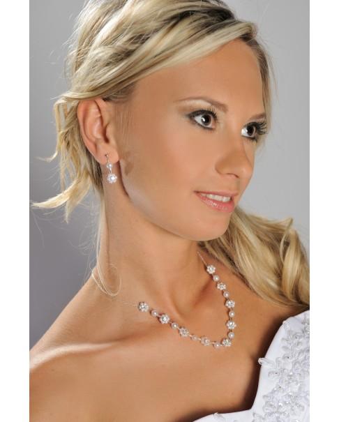 Súprava náhrdelník a náušnice CLAIRE