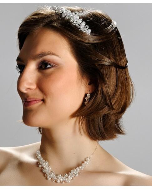 Ozdoba do vlasov, korunka ROMA