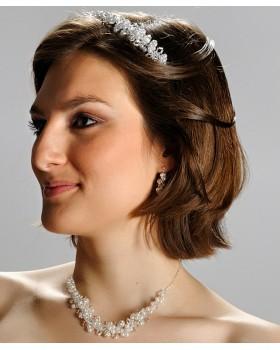 Súprava korunka, náhrdelník, náramok a náušnice ROMA