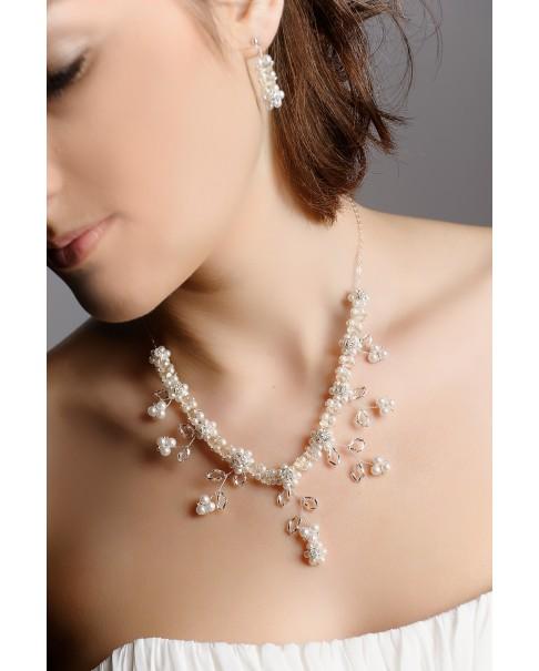 Súprava náhrdelník a náušnice MARTINA