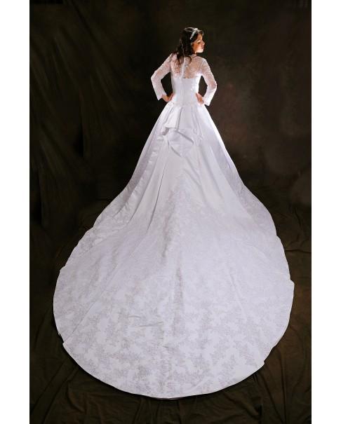 Svadobné šaty CATHERINE a lá Kate Middleton - zľava na posledný kus