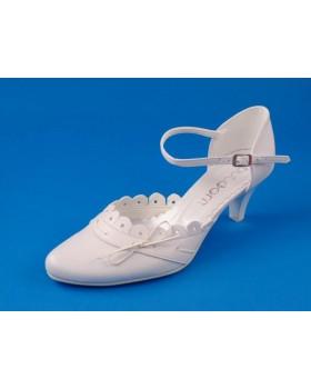 Svadobné topánky Flora