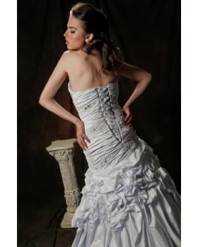 Svadobné šaty DEINA - zľava na posledný kus skladom