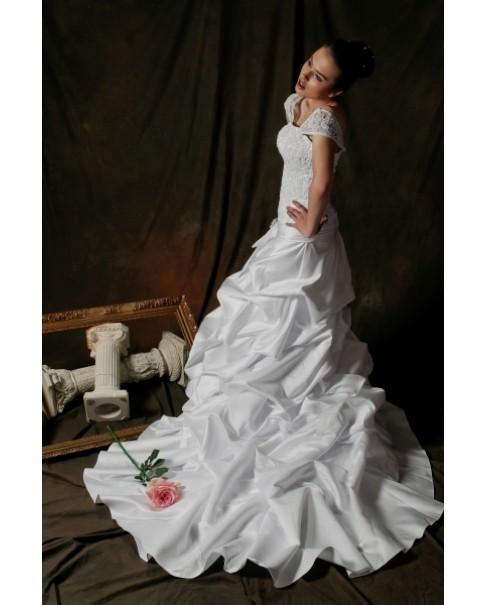 Svadobné šaty JOHANNA - jediný kus vo veľkosti 36 skladom