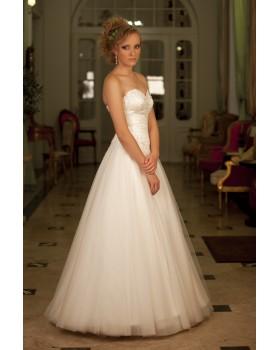 Svadobné šaty LUCIA - posledný kus za skvelú cenu vo výpredaji