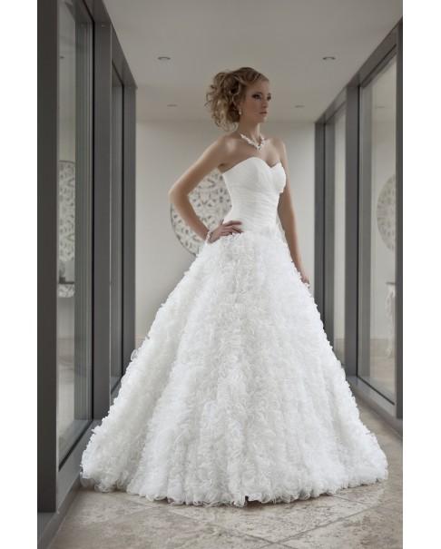 Svadobné šaty GIOVANNA - zľava na posledný kus veľ. 38