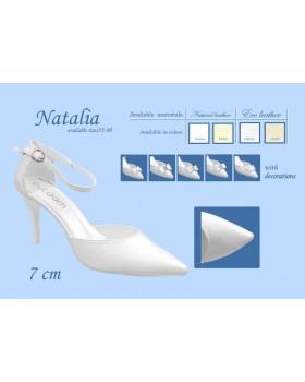 Svadobné lodičky Natalia