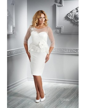 Krátke svadobné šaty Emmi Mariage Terri