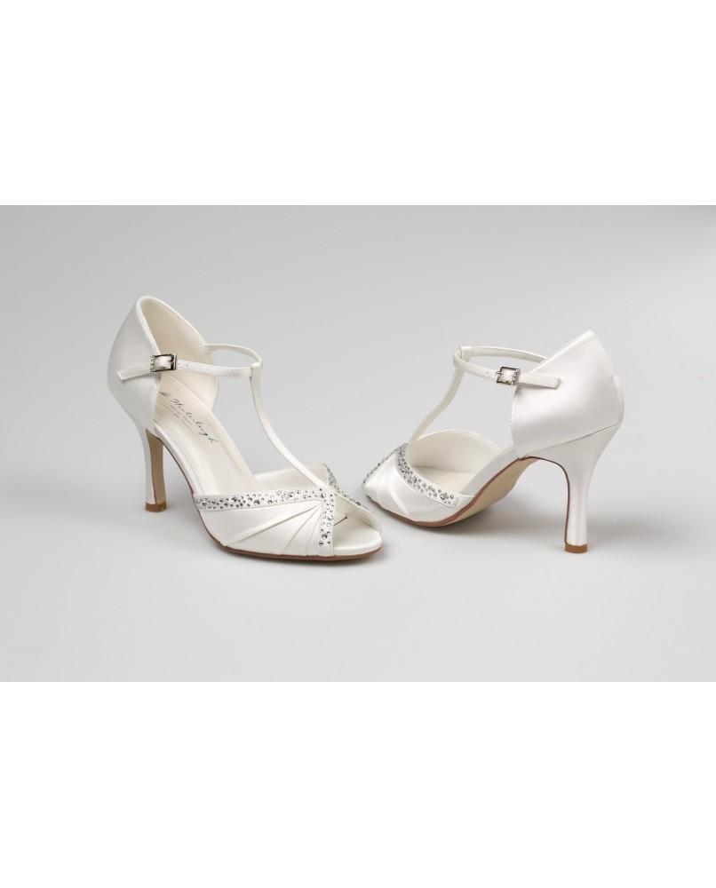 d4c94add07 svadobne topanky Tiffany znacky westerleigh 9 cm podpatok