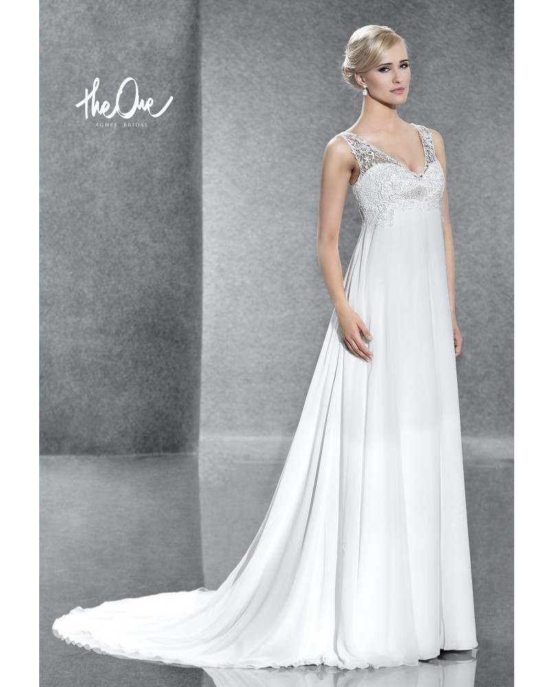 93aa37717540 svadobne saty pre tehotne nevesty agnes bridal dream the one to 106 ...
