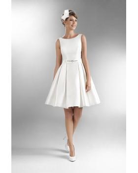 Krátke svadobné šaty Agnes TO 502