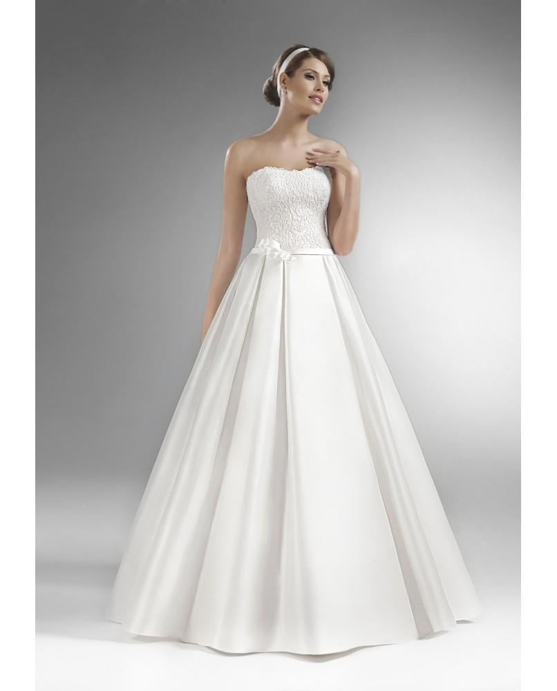 3d0723d115ac uzke cipkove svadobne saty s ramienkami agnes bridal dream the one ...