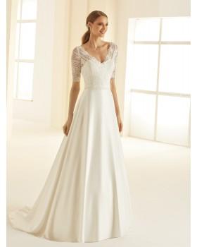 Svadobné šaty Barbara - veľ. od 34 do 50
