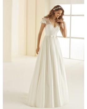 Svadobné šaty Carolina - veľ. od 36 do 44