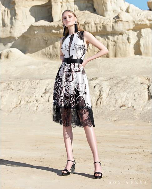 Koktejlové šaty Sonia Peña 1200134