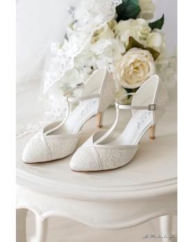 Svadobné topánky Zara - G. Westerleigh
